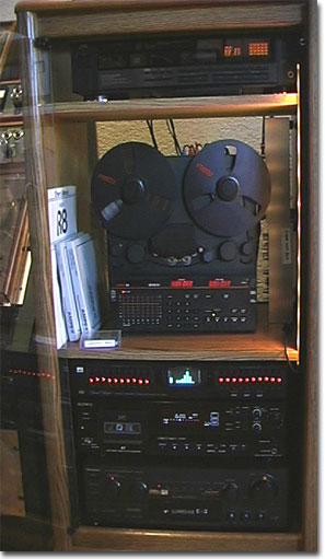 picture of Fostex R8 with Sony DAT and other Phantom equipment