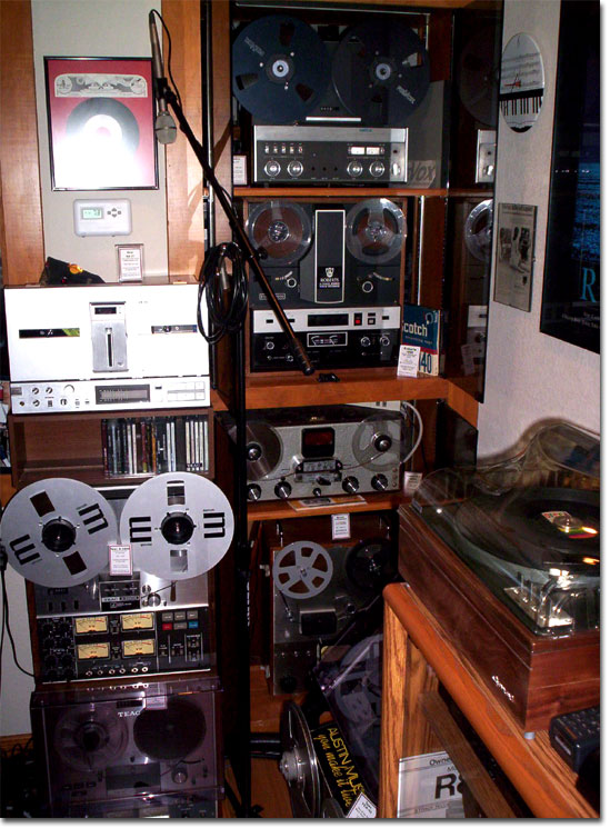 picture of Phantom Productions' recording studio in November 2004
