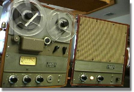 Phantom S Vintage Reel 2 Reel Tape Recorder History Timeline