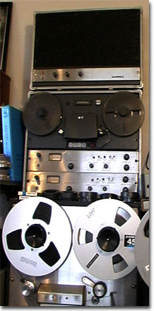 Ampex AG500 and speaker