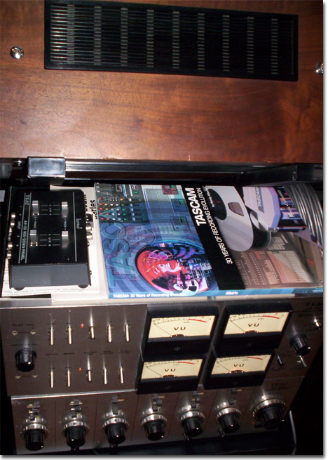 pictures from Phantom reel to reel tape recording museum