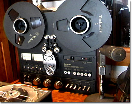 Technics RS1700 in Phantom Productions' vintage recording collection ©2008